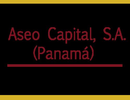 Aseo Capital, S.A. (Panamá)