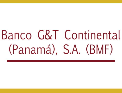 Banco G&T Continental (Panamá), S.A. (BMF)