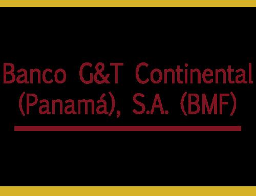 Banco G&T Continental (Panamá), S.A. (BMF)